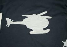 T-ShirtSuperHelicopterCloseUp